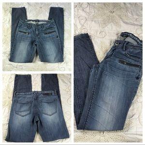 Juniors Hurley Super Skinny Jeans Distressed